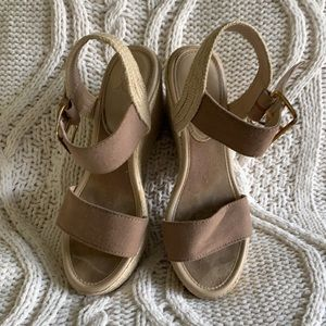 New York & Co Wedge Sandals